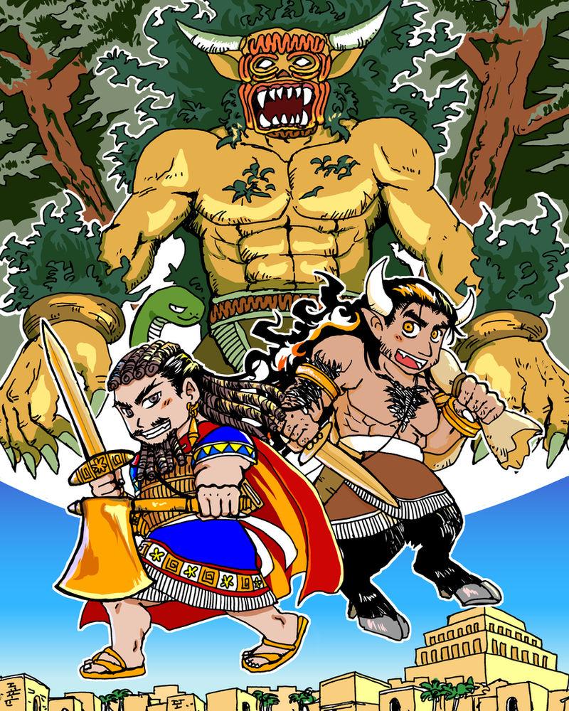 The Epic of Gilgamesh 20190207 by nosuku-k on DeviantArt