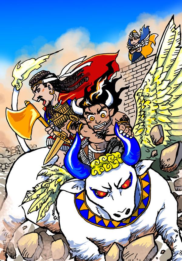 The Epic of Gilgamesh 20190218 by nosuku-k on DeviantArt