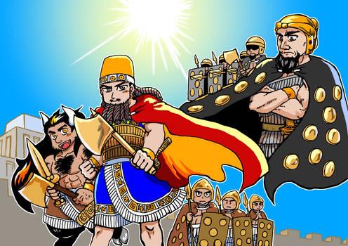 Gilgamesh and Aga 20200509