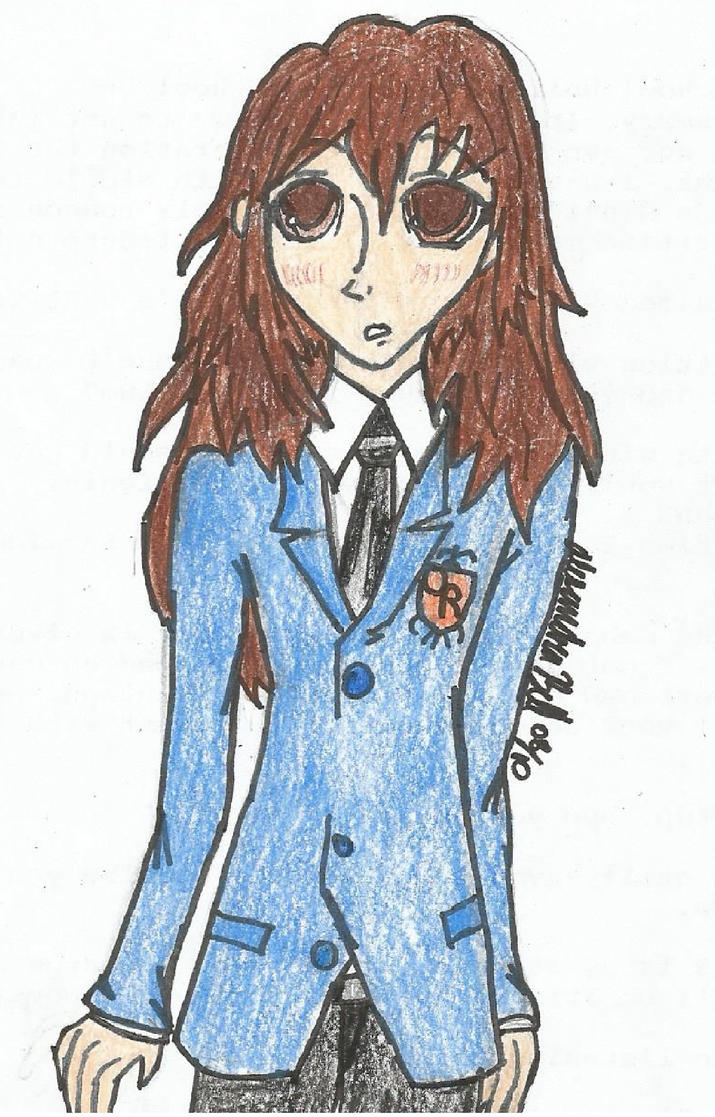 Blade: Ouran Academy Uniform by Blade-Of-Ash