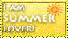 Summer lover stamp by KillerSandy
