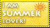 Summer lover stamp by KillerSandy