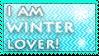 Winter lover stamp by KillerSandy