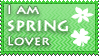 Spring lover stamp by KillerSandy