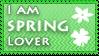 Spring lover stamp by KillerSandy