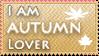 Autumn lover stamp by KillerSandy