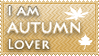 Autumn lover stamp by KillerSandy