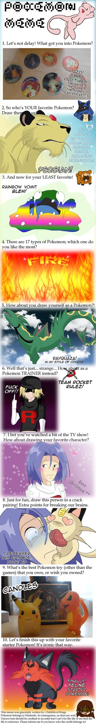 Pokemon Meme by KillerSandy