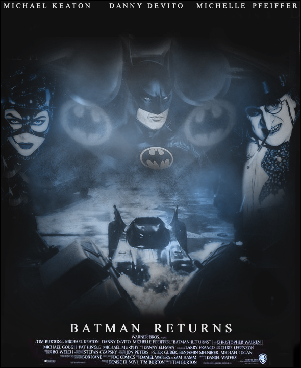 Batman Returns Poster by Rockbottom191