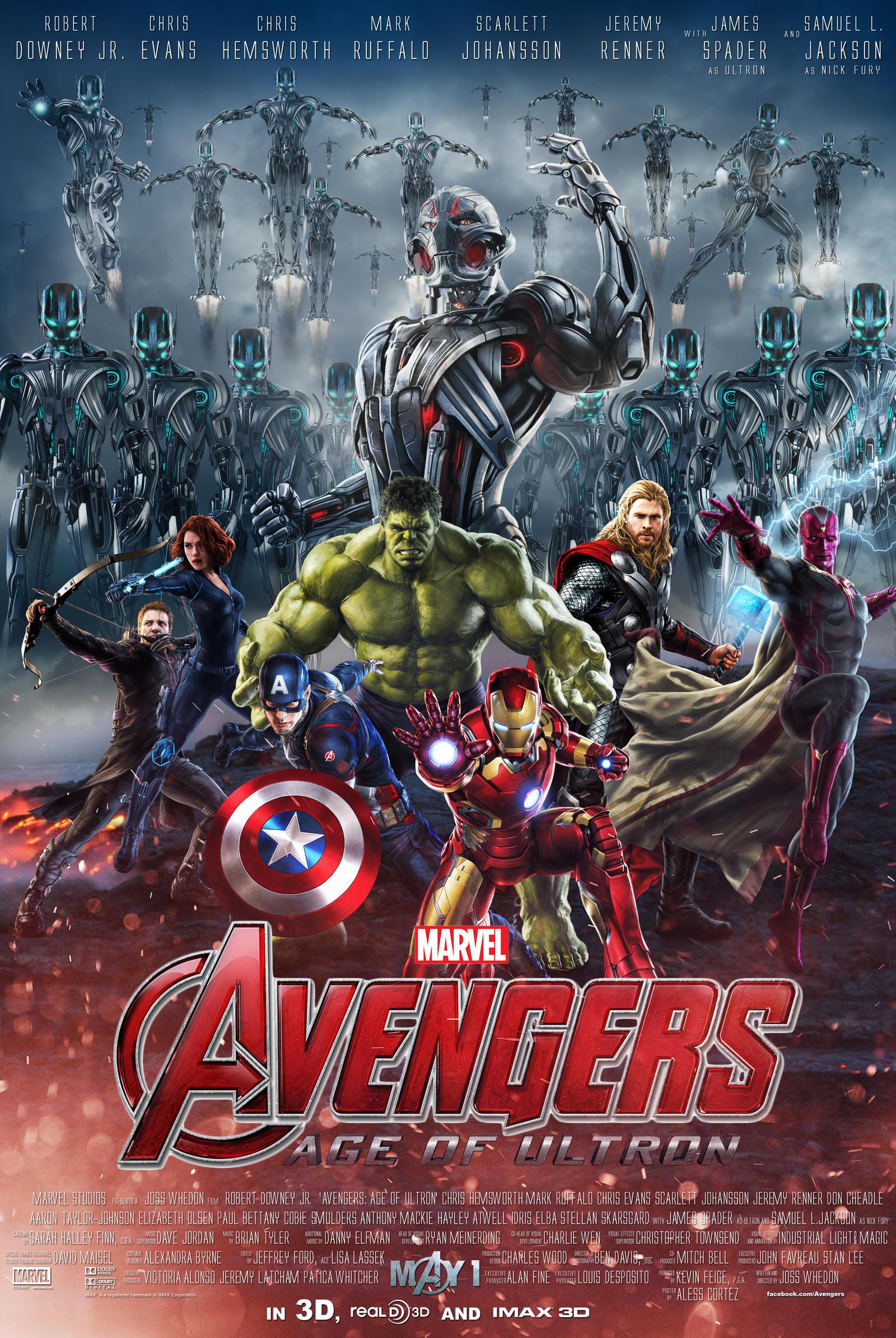 Avengers age of ultron fan poster by alesscortez on deviantart