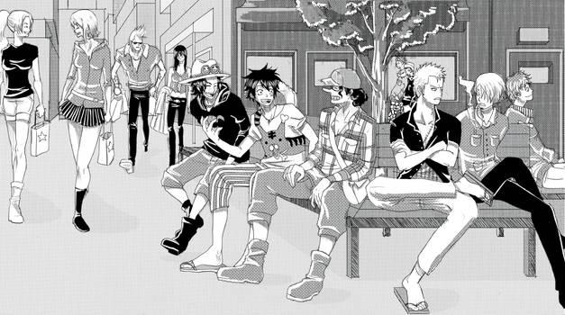 AU One Piece Group