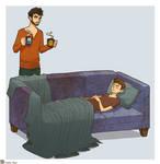 Sterek - couch