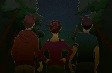Teen Wolf Night Sky