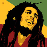 Bob Marley by monsteroftheid