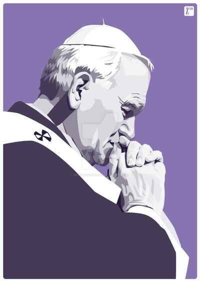 John Paul II by monsteroftheid