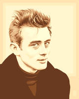 James Dean II by monsteroftheid