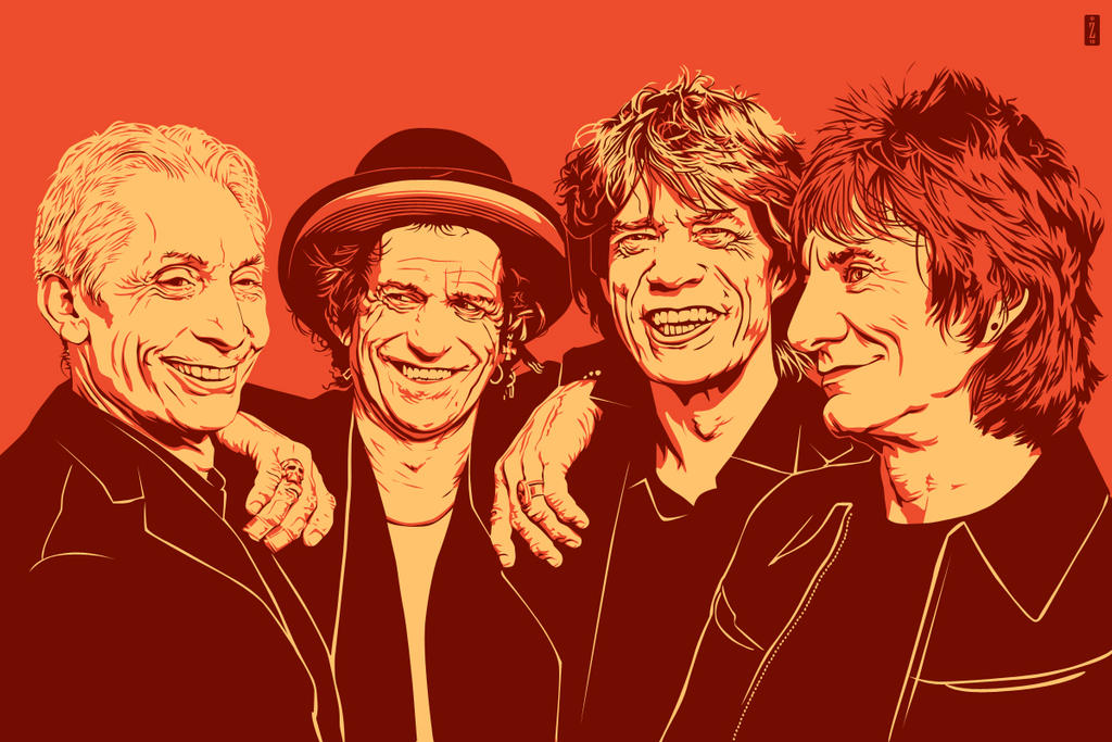 The Rolling Stones by monsteroftheid
