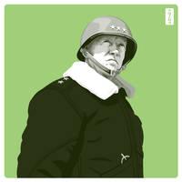 George S. Patton by monsteroftheid