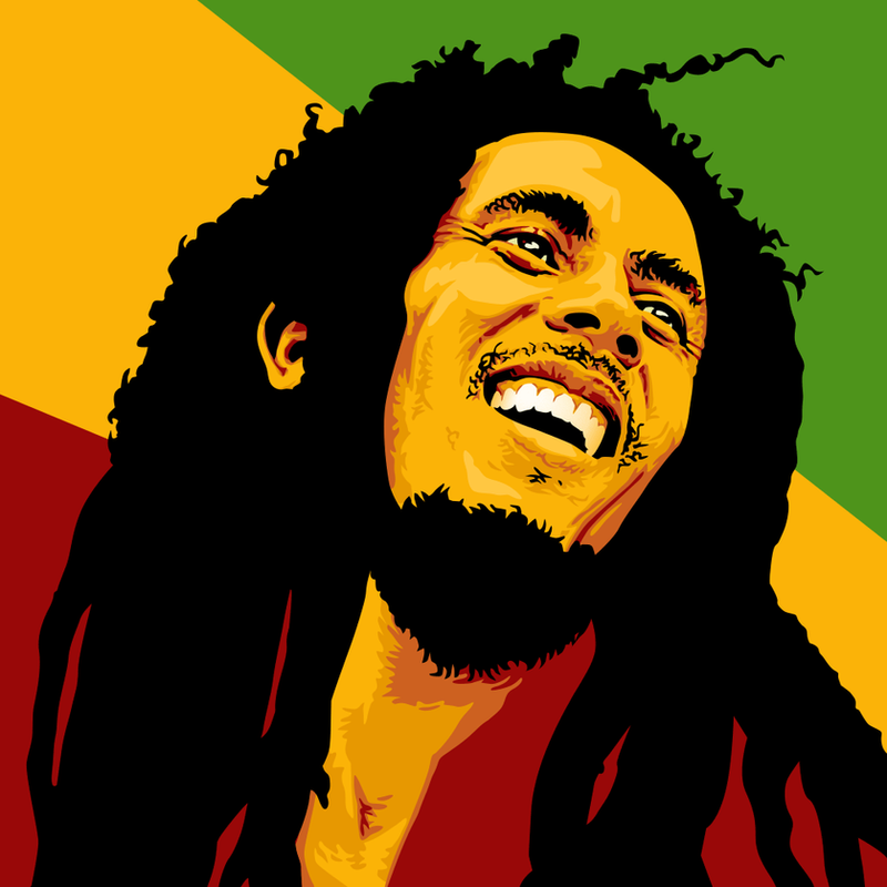 Bob Marley by monsteroftheid on DeviantArt