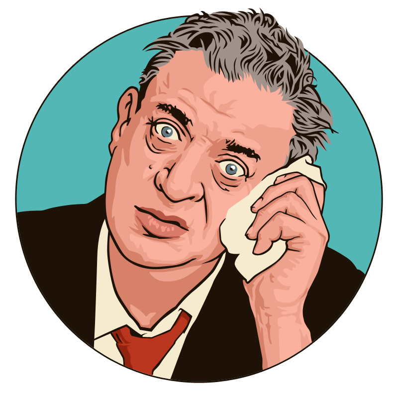 Rodney Dangerfield by monsteroftheid