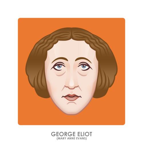 George Eliot by monsteroftheid