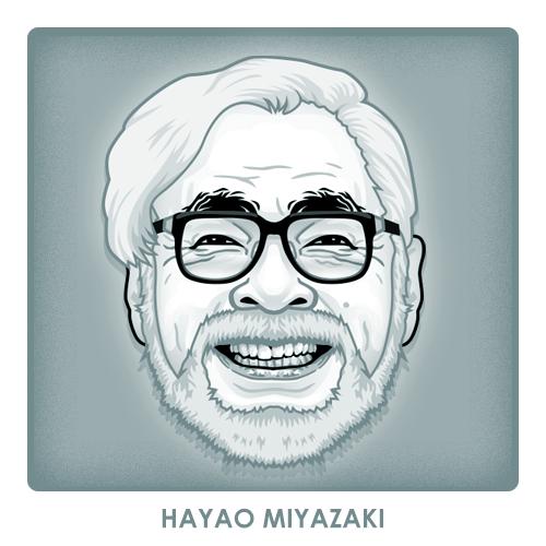 Hayao Miyazaki by monsteroftheid