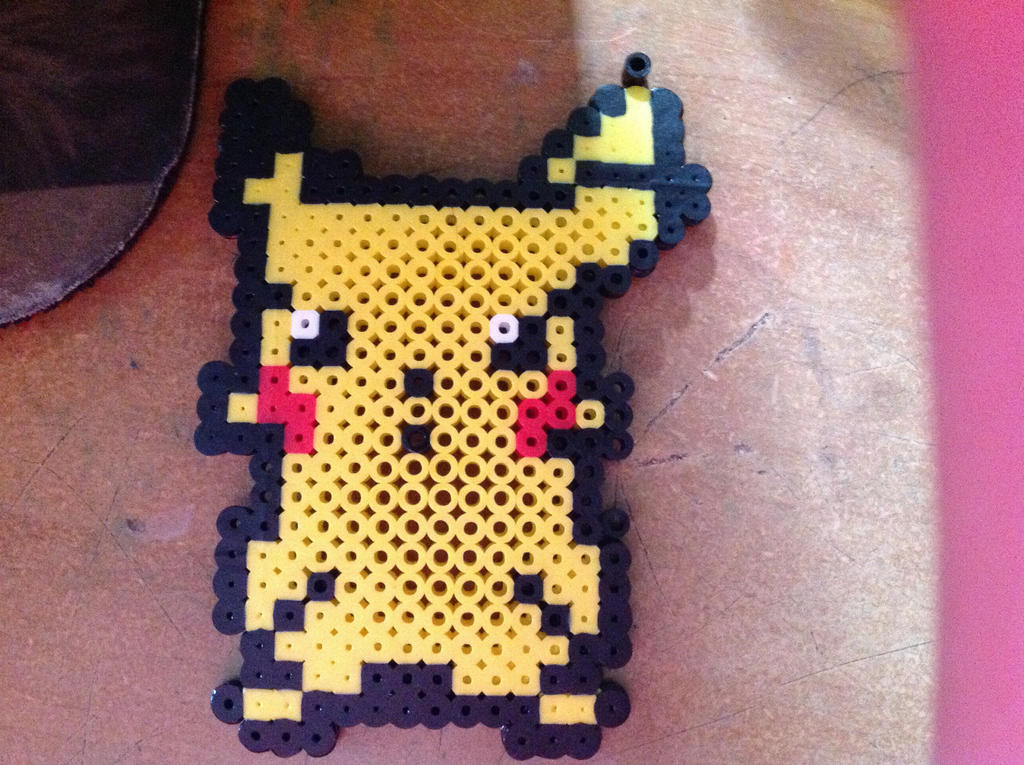 Pikachu perler bead pattern by mygirlgab1123