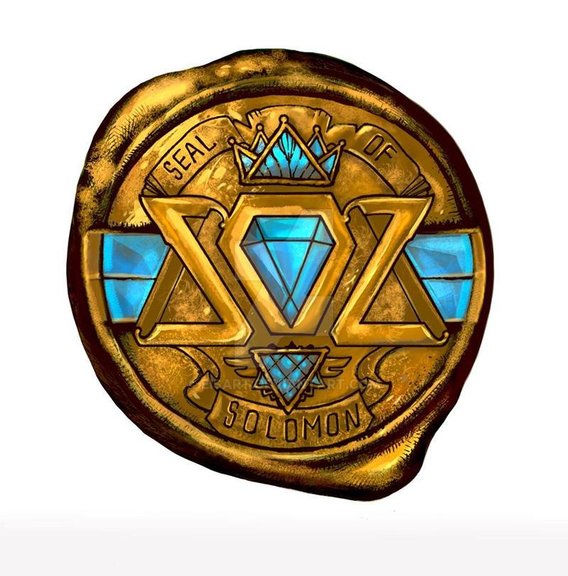 Seal of Solomon Album logo by EisArt on DeviantArt