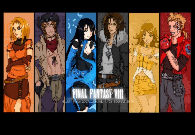 FFVIII-2 - by hitokiriraion by TheLegacyOfFFVIII