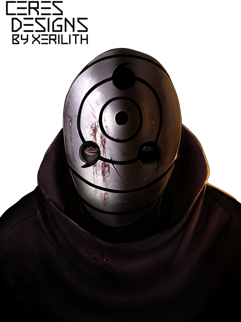 Tobi [Rinnegan] Render by Zelithix on DeviantArt