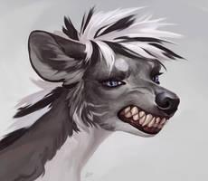 Hyena by Aspidal