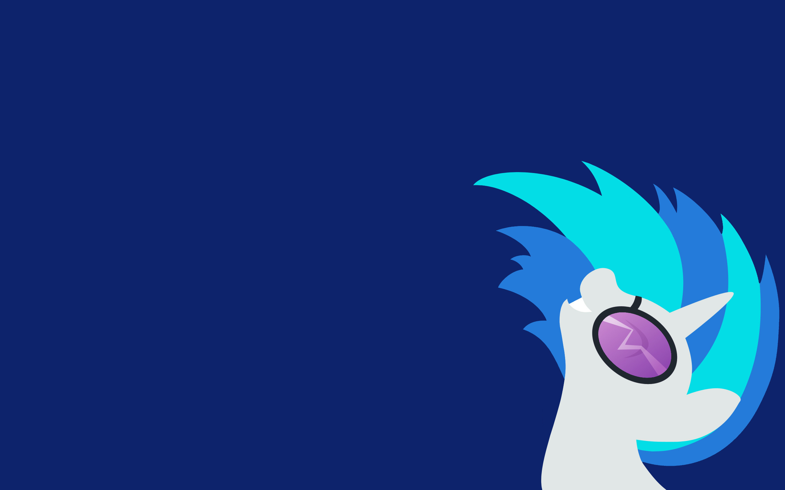 MLP:FIM Dj-Pon3 Wallpaper by Moustache147