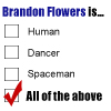 Brandon Flowers is... by poundingonthedoor
