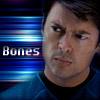 Karl Urban - Bones blue icon by poundingonthedoor
