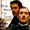 Sherlock Holmes - H and W by poundingonthedoor