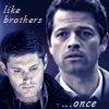 SPN - Cas and Dean once icon by poundingonthedoor