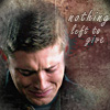 Dean - nothing left icon by poundingonthedoor