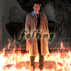 Castiel - falling angel icon by poundingonthedoor