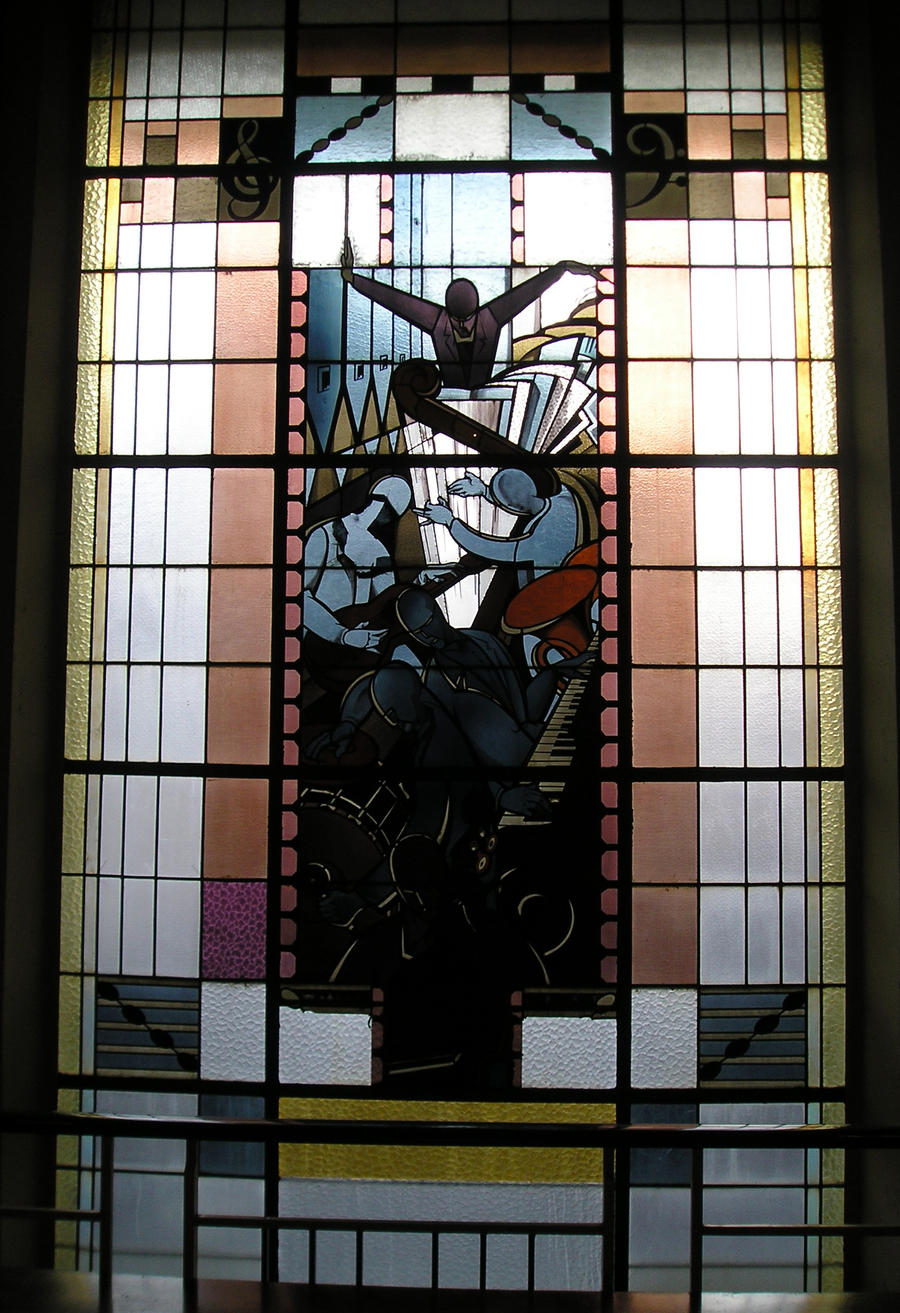 Art Deco Stained glass panel 2 by hecestmoi on DeviantArt