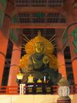Buddha in Todaiji Temple