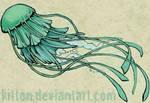 tatoo design: jellyfish