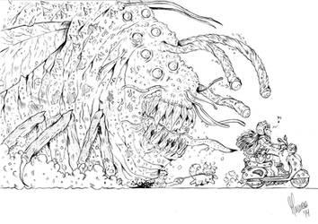 Bug Monster by reactormako