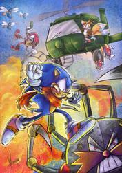 Sonic by reactormako