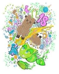 18th Birthday DeviantArt Line art Challenge by ZombieInn