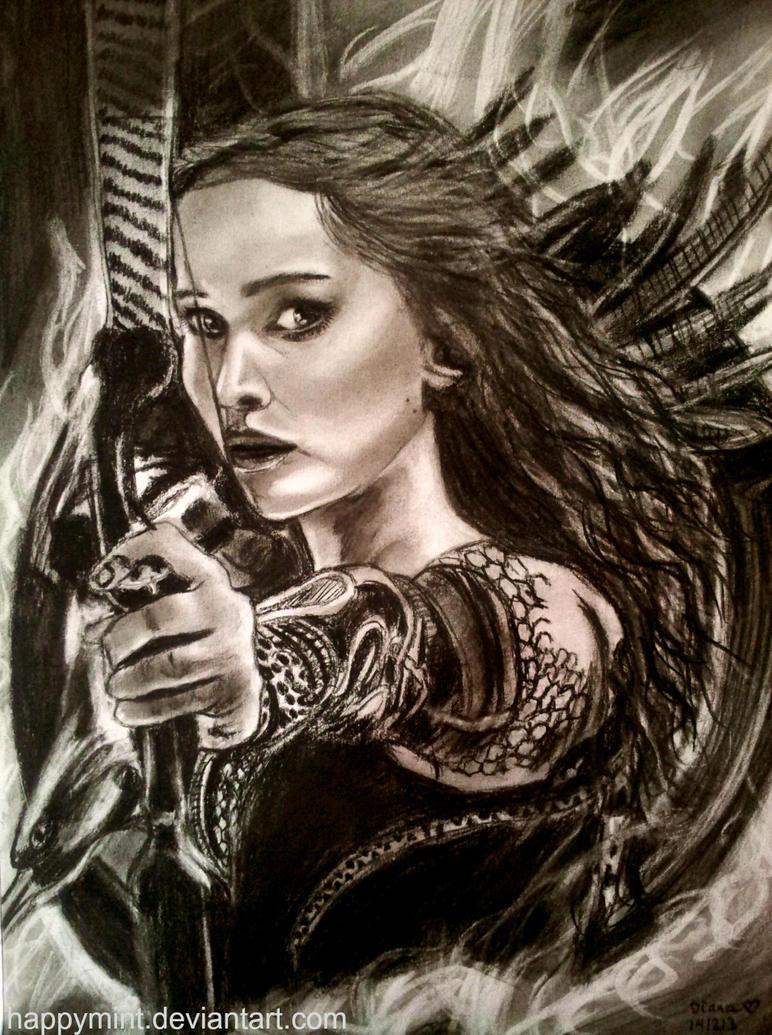 Catching Fire: Katniss Everdeen by happymint on DeviantArt