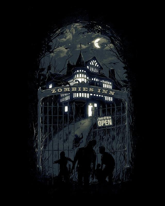 Zombies Inn by nicebleed83
