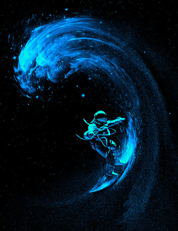 Space Surfing by nicebleed83