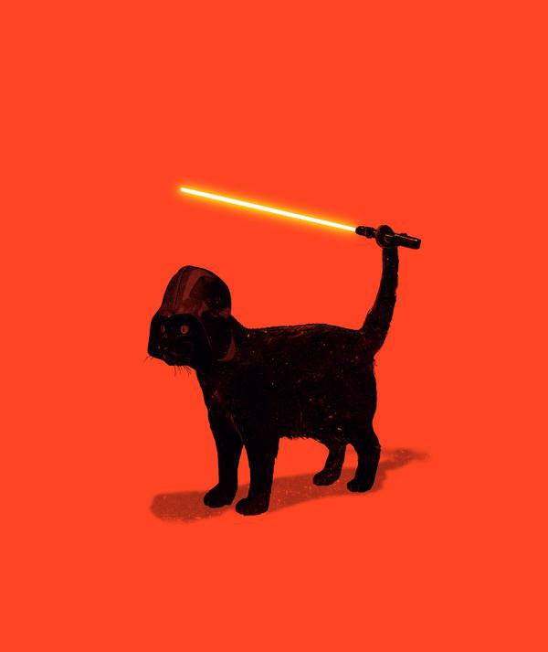 Cat Vader by nicebleed83