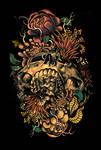 Flora Skull 2