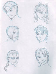 Halcyon sketches 1